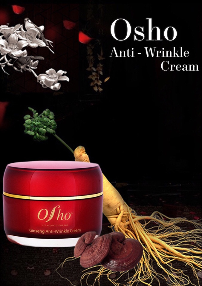 osho korea ginseng anti wrinkle cream 50ml