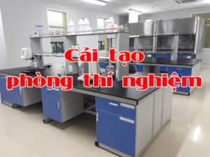cải tạo phòng thí nghiệm