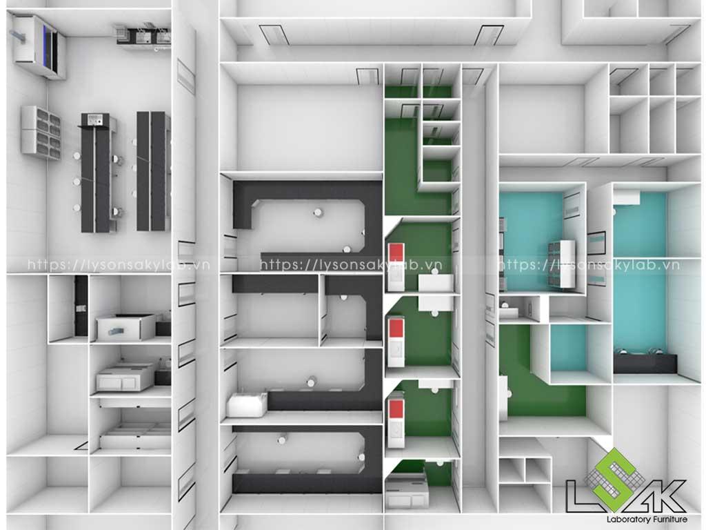 Thiết kế phòng thí nghiệm, design laboratory