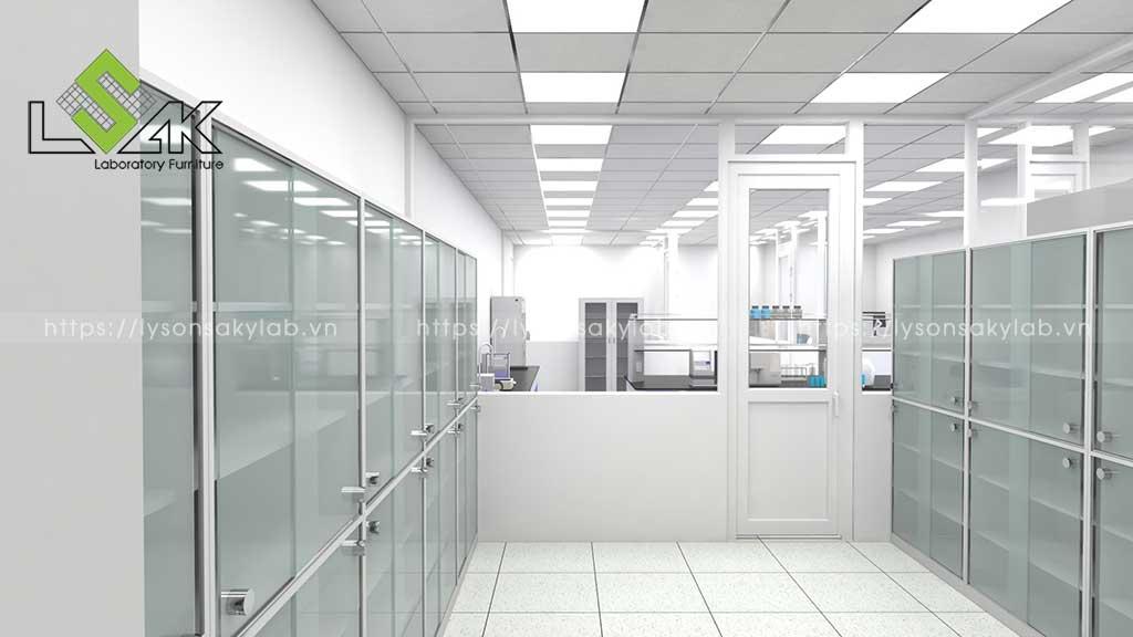 Thiết kế phòng thí nghiệm nhà máy thức ăn chăn nuôi