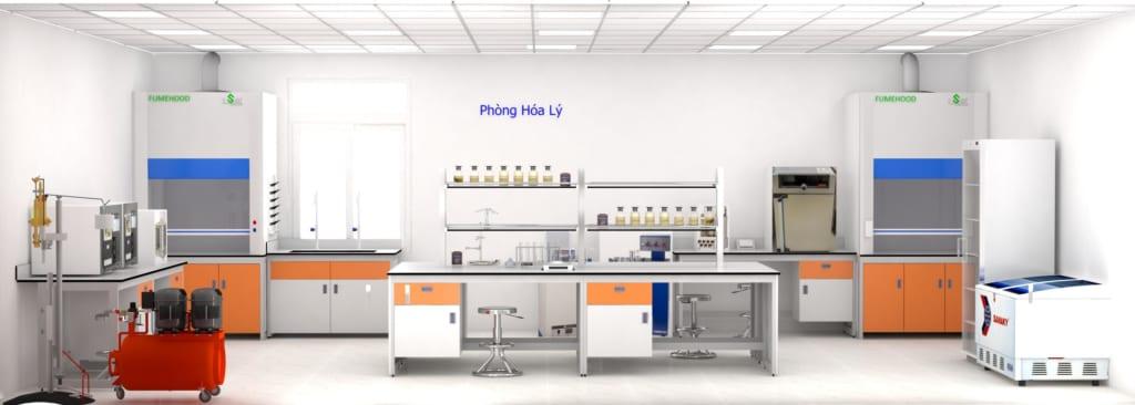 Thiết kế phòng thí nghiệm