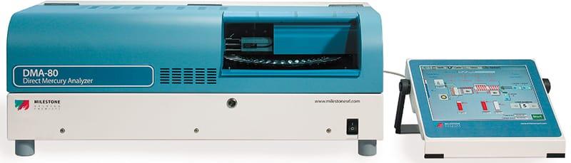 Máy phân tích thủy ngân trong phòng thí nghiệm