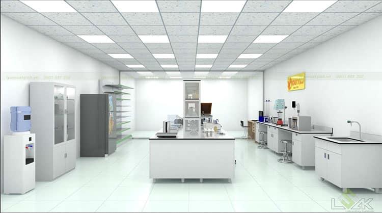 Thiết kế phòng thí nghiệm Công ty Cổ Phần Bột Thực Phẩm Tài Ký