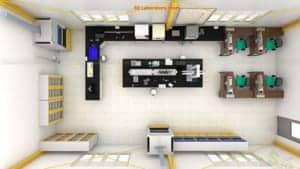 Thiết kế phòng thí nghiệm Công Ty TNHH Techbond Mfg (việt Nam)