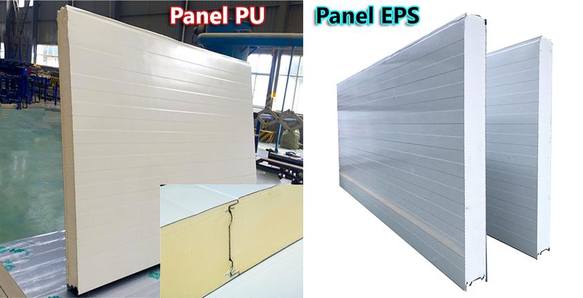 panel pu, panel eps cách nhiệt cách âm