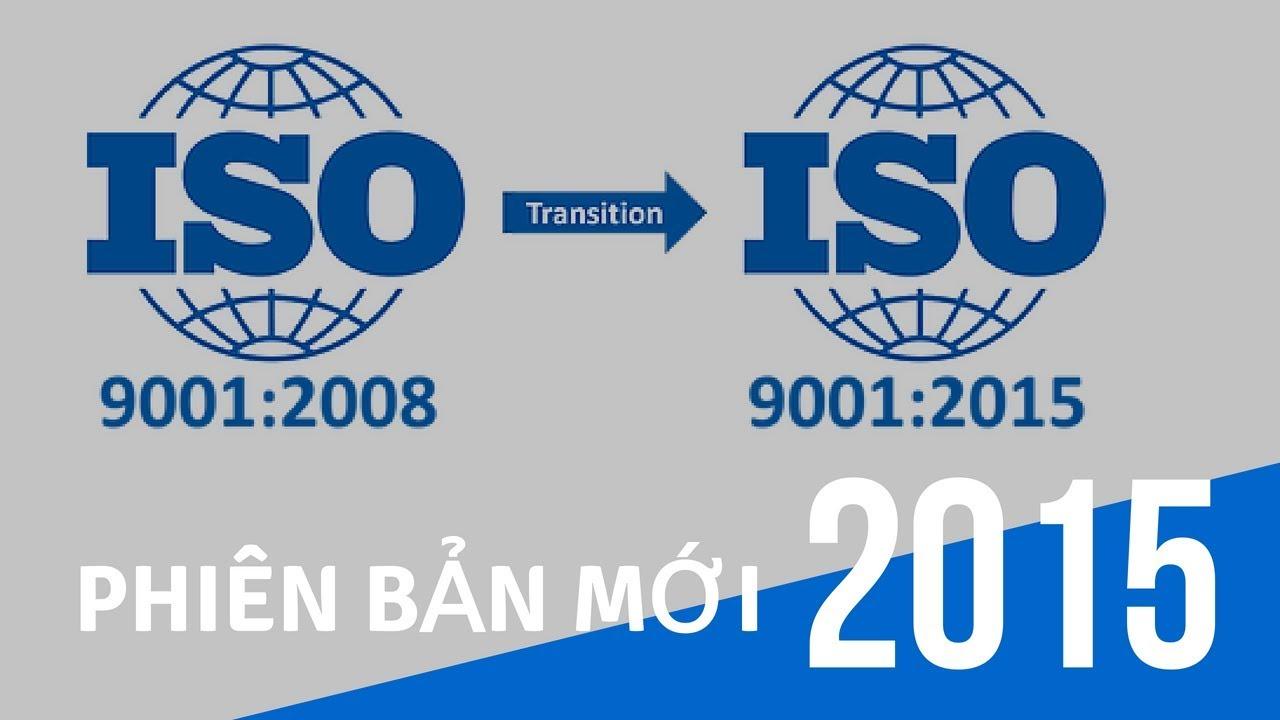 phiên bản mới ISO 2015