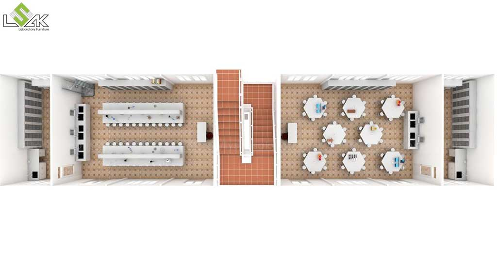 Thiết kế phòng thí nghiệm Trường THCS Quỳnh Thiện Nghệ An