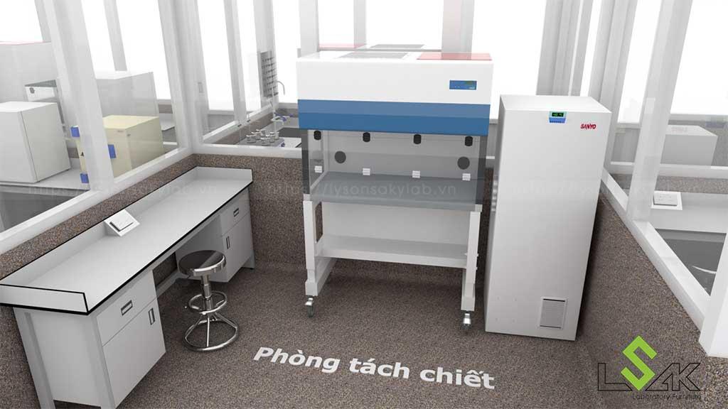 Thiết kế phòng thí nghiệm Công ty Thủy Sản Việt Úc Bình Thuận