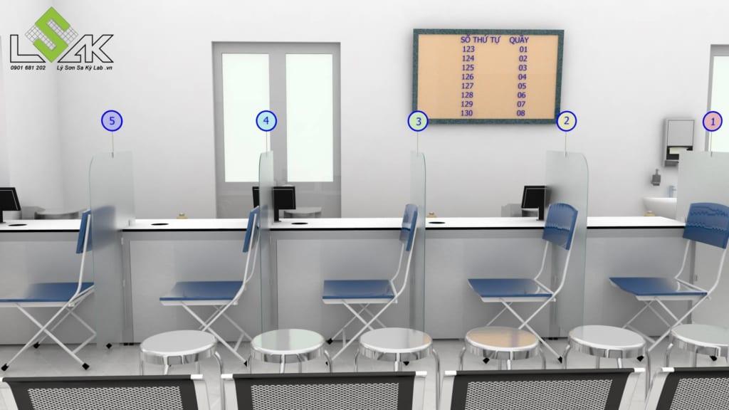 Thiết kế phòng lấy mẫu máu xét nghiệm