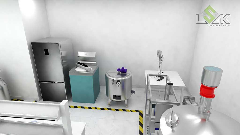 Thiết kế phòng lab công ty Acecook Việt Nam