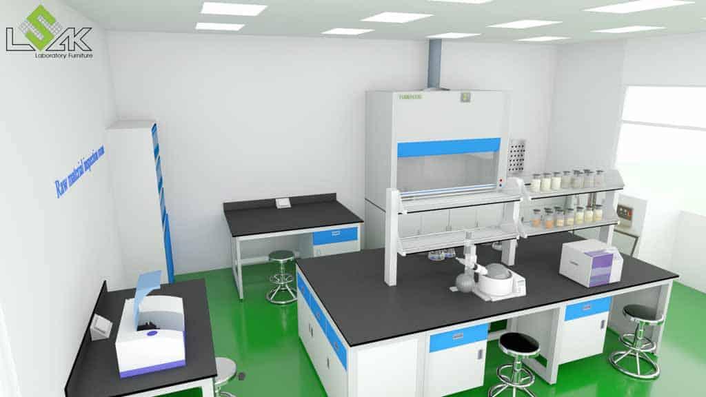 Thiết kế phòng lab công ty Sinoma Nhơn Trạch