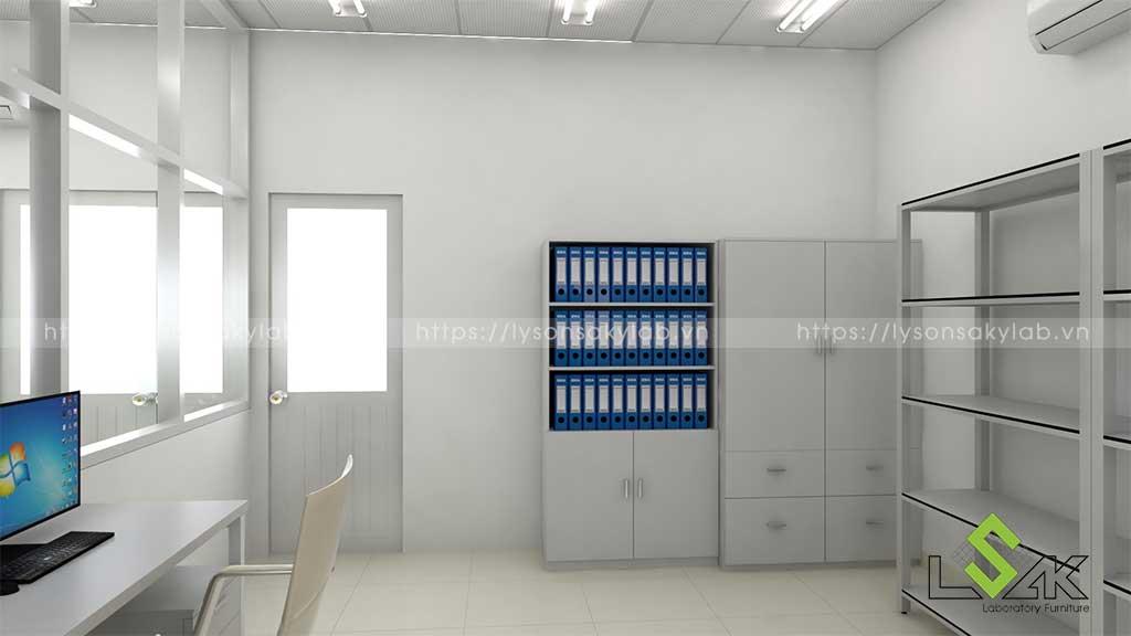 Thiết kế phòng thí nghiệm Khoa Y Trường Đại Học Hồng Bàng