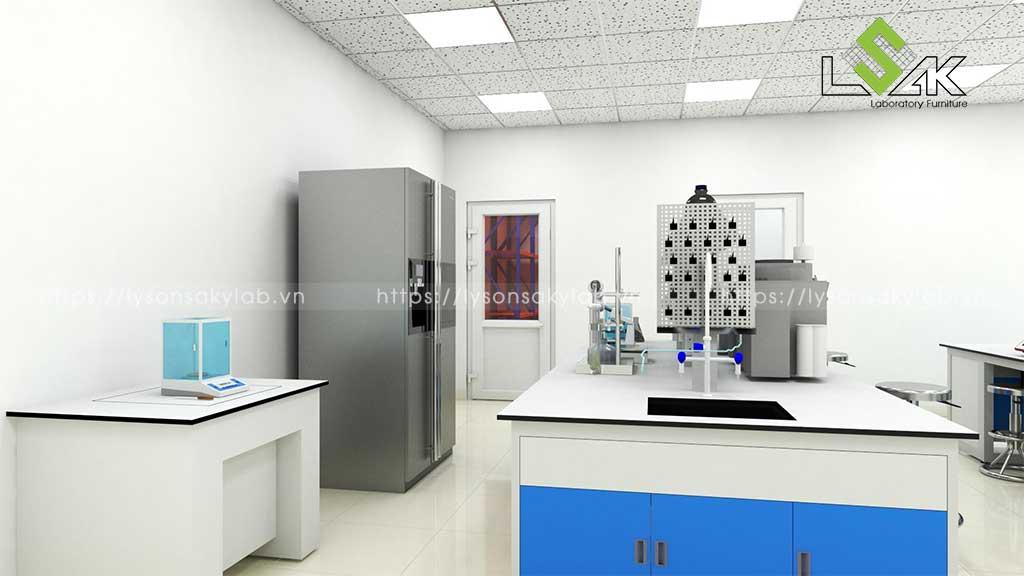 Thiết kế phòng thí nghiệm nhà máy bia