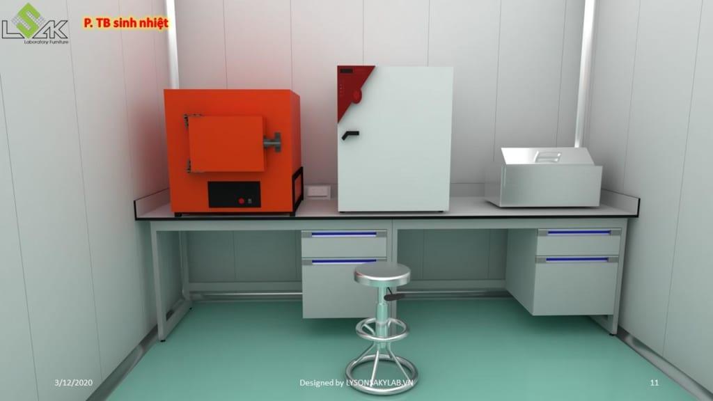 phòng thiết bị sinh nhiệt