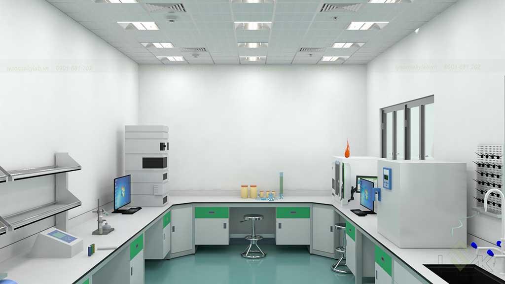 Thiết kế phòng thí nghiệm công nghệ chế biến nông sản