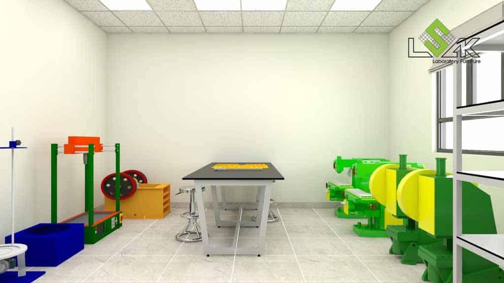 Thiết kế phòng thí nghiệm nhà máy đá