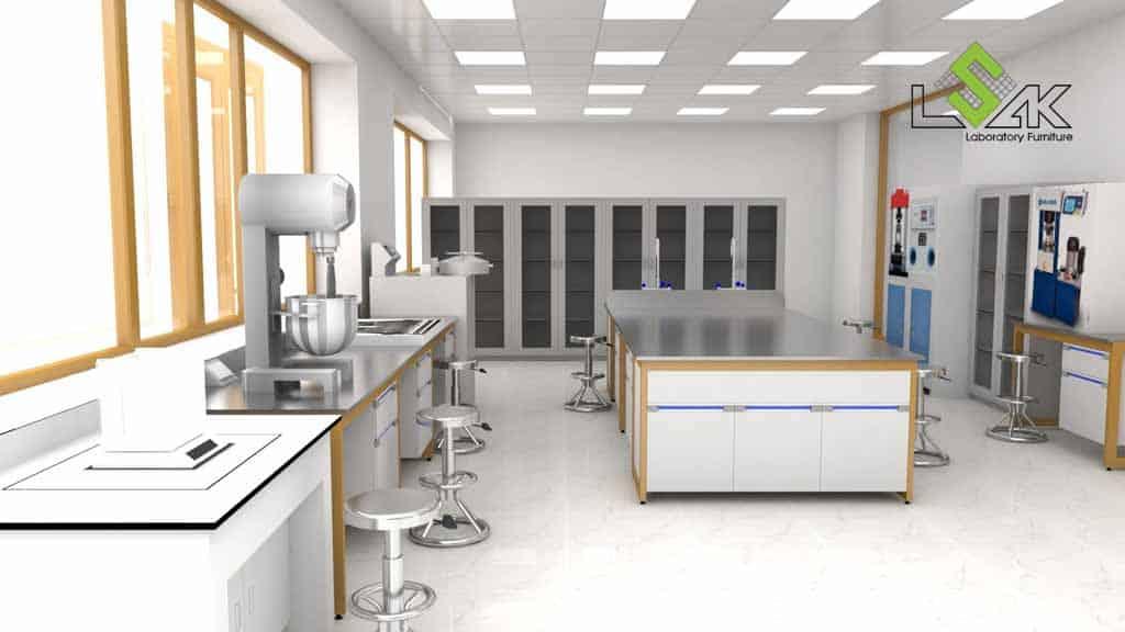 Thiết kế phòng thí nghiệm nhà máy xi măng