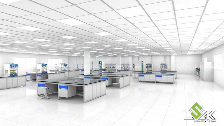 thiết kế phòng nghiên cứu phát triển sản phẩm