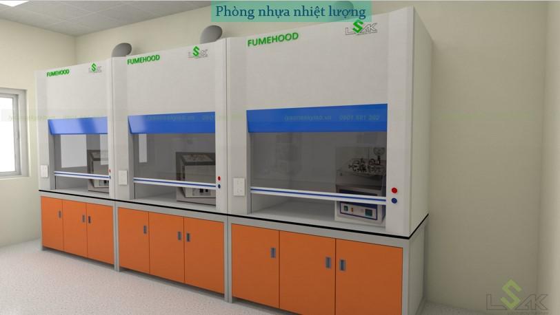 phòng nhựa nhiệt lượng