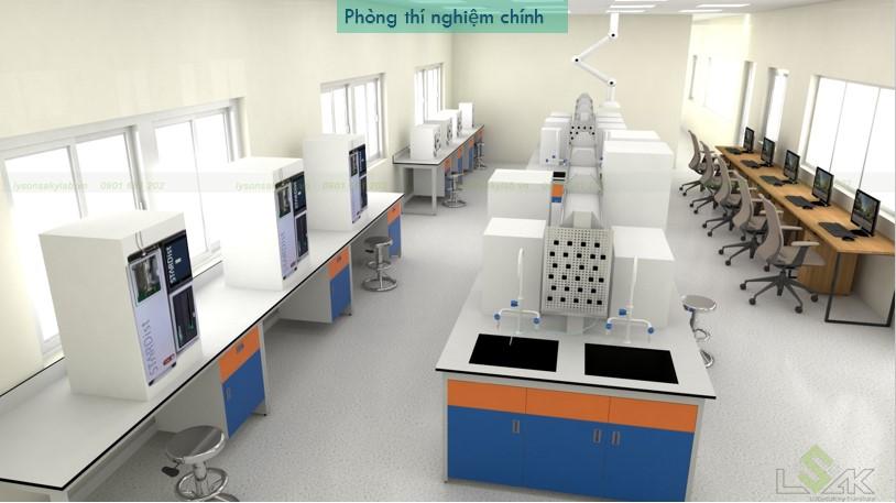 phòng thí nghiệm trung tâm