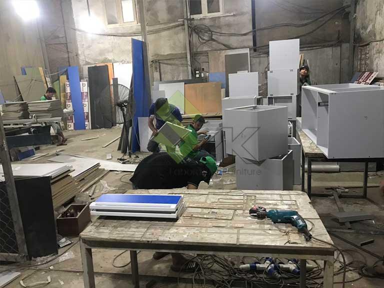 Sản xuất lắp ráp đóng gói hàng hóa