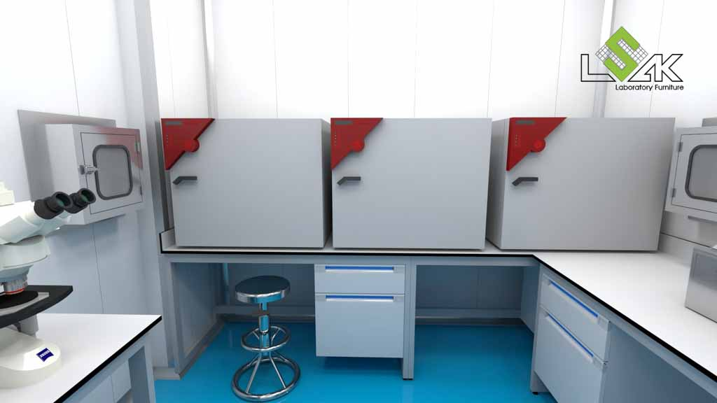 phòng ủ mẫu phòng thí nghiệm nuôi trồng thủy sản