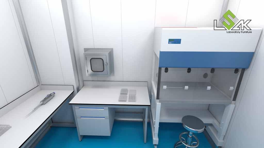 Phòng cấy mẫu phòng thí nghiệm nuôi trồng thủy sản