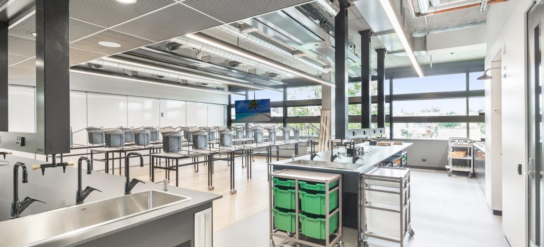6 xu hướng thiết kế phòng thí nghiệm hàng đầu