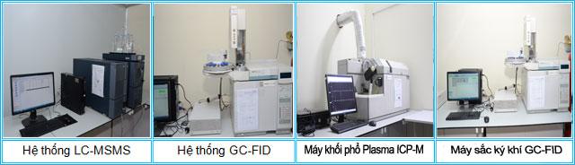 Hình ảnh khu vực thử nghiệm hóa học tại TTPT-TN Tp. Hồ Chí Minh