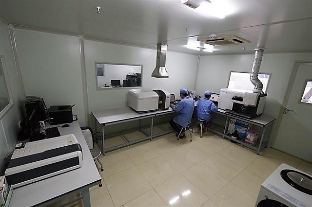 Phòng thí nghiệm kiểm soát chất lượng vật tư nông nghiệp