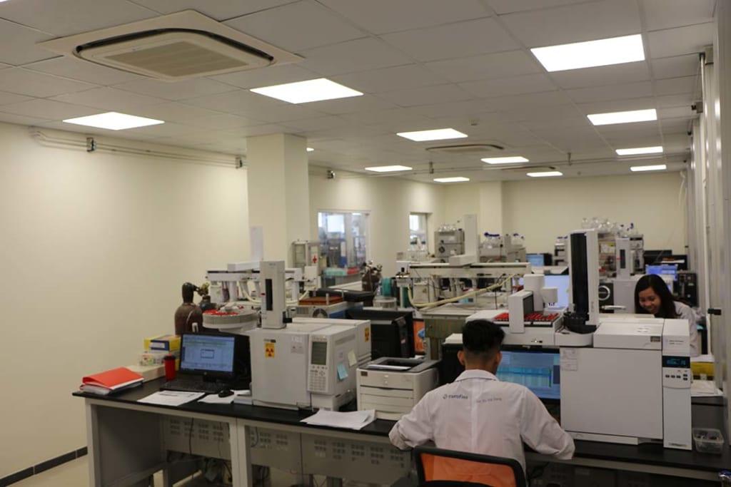 Phòng thí nghiệm công ty Eurofins Sắc Ký Hải Đăng