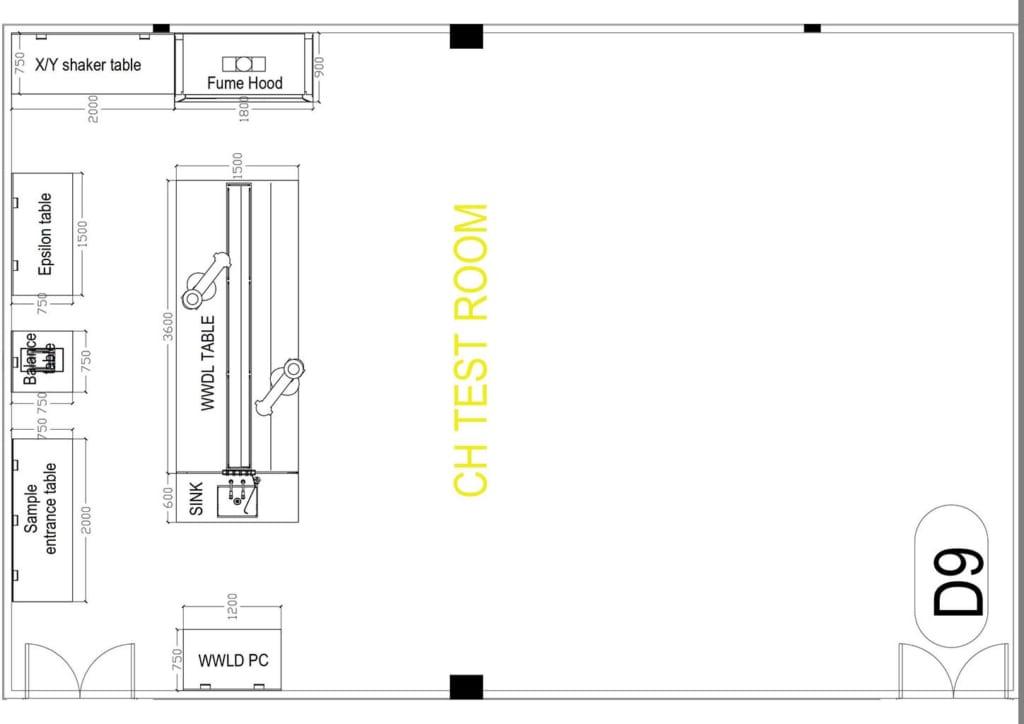 Thiết kế phòng lab nhà máy sản xuất sợi thép