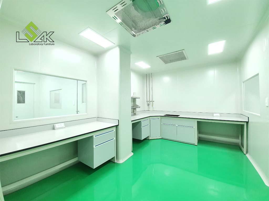 Bàn giao nội thất phòng thí nghiệm mỹ phẩm ở Vĩnh Long