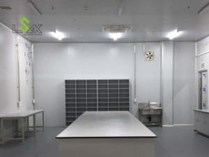 Bàn giao nội thất phòng lab công ty tại Bình Thuận