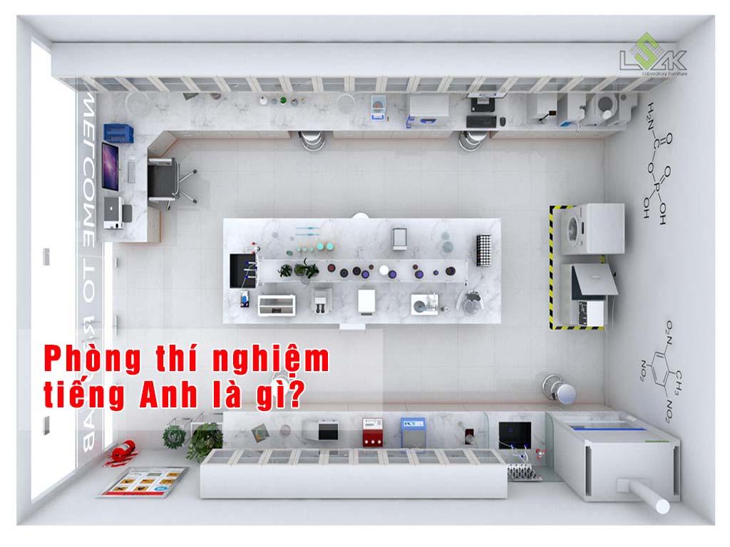 phòng thí nghiệm tiếng anh là gì?
