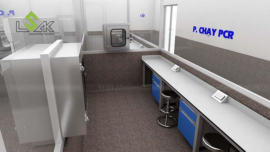 thiết kế phòng xét nghiệm cho thủy sản