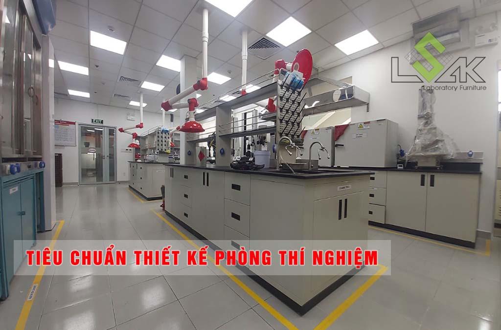 Tiêu chuẩn thiết kế phòng thí nghiệm