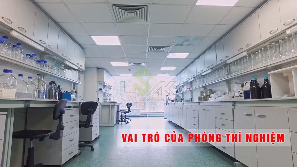 vai trò của phòng thí nghiệm