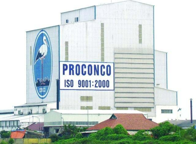 Công ty CP Việt – Pháp Sản xuất thức ăn gia súc Proconco(Công ty Proconco)