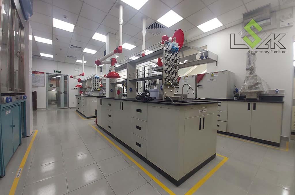 Xây dựng cải tạo phòng thí nghiệm