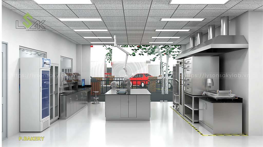 phòng bakery nhà máy thực phẩm