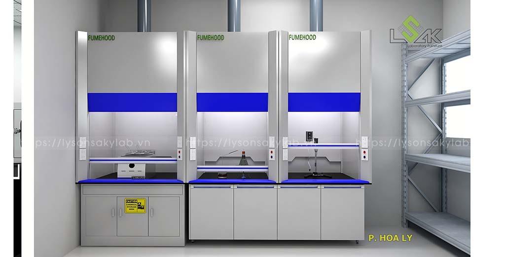 phòng hóa lý nhà máy thực phẩm