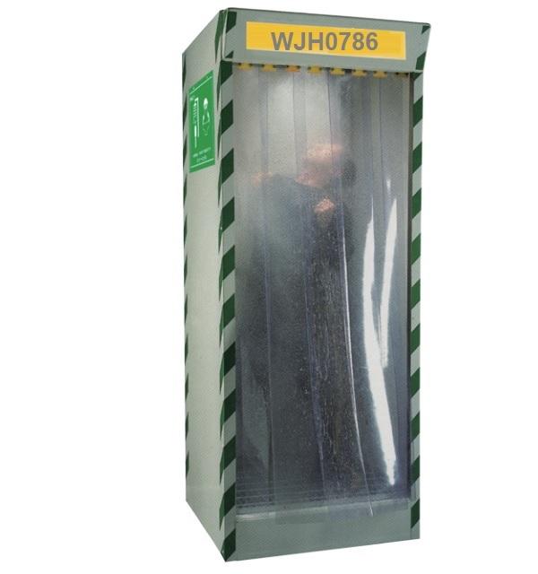 Buồng rửa mắt và tắm khẩn cấp toàn thân WJH0786
