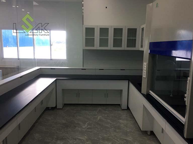 nội thất phòng thí nghiệm công ty Apex Material Industrial Việt Nam