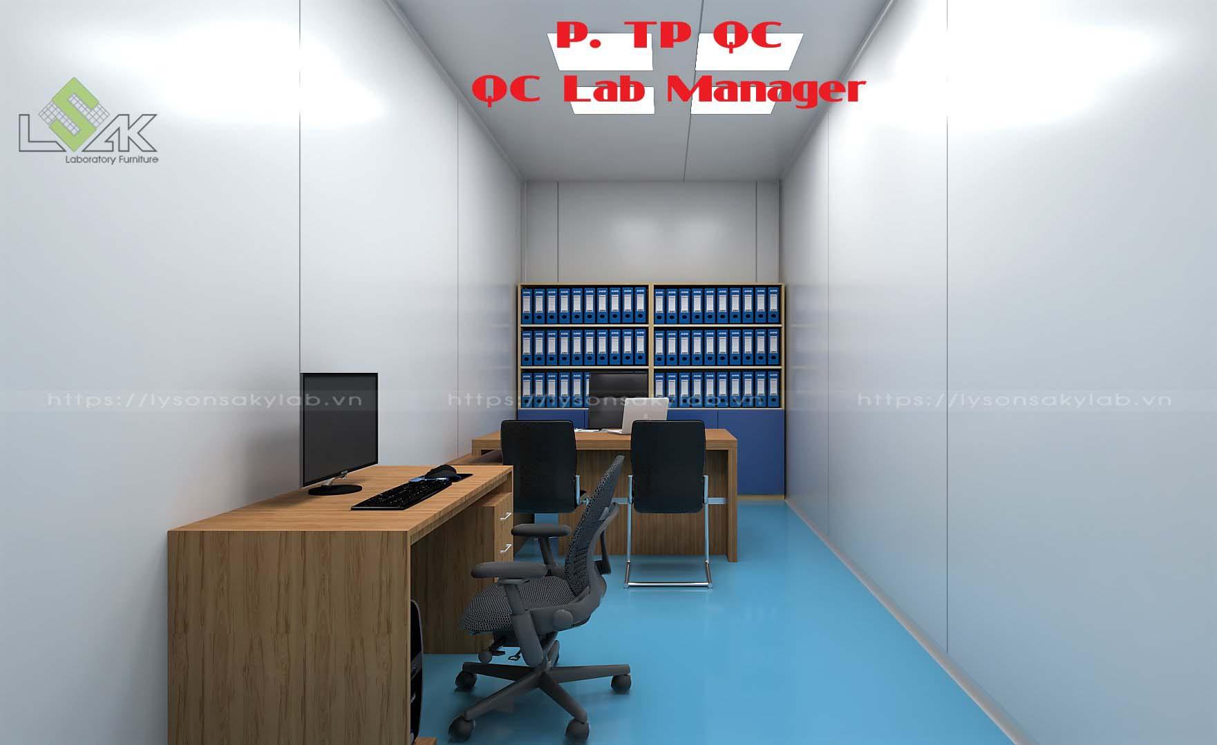 Phòng Trưởng phòng QC