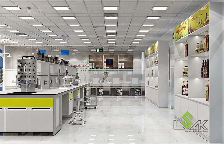 thiết kế phòng r&d công ty dầu thực vật