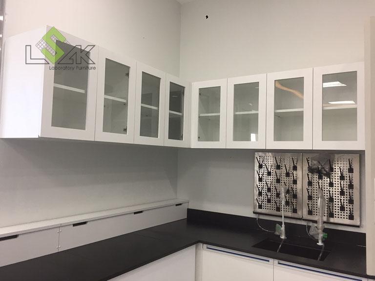 Tủ treo tường và giá phơi dụng cụ thí nghiệm