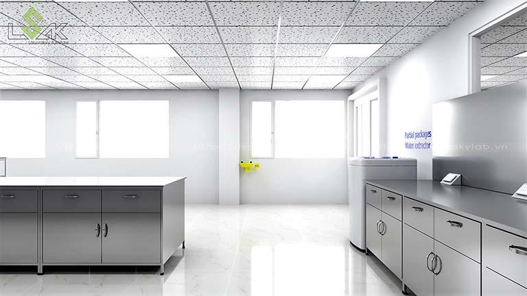 bàn thí nghiệm áp inox nhà máy sợi chỉ Armerfird Việt Nam