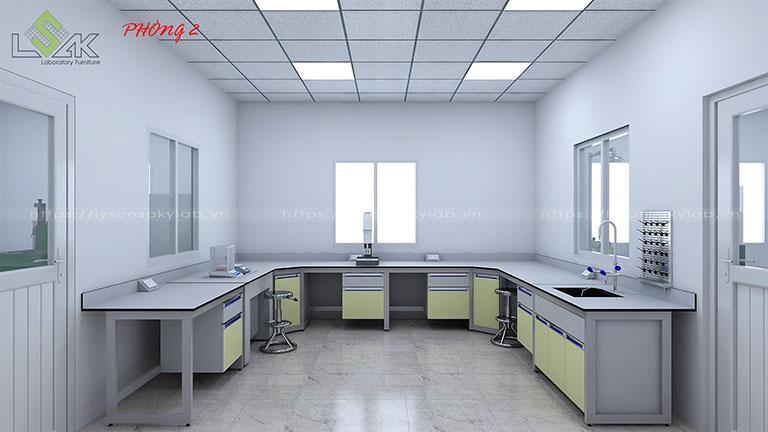 Phòng thử nghiệm tính chất vật lý