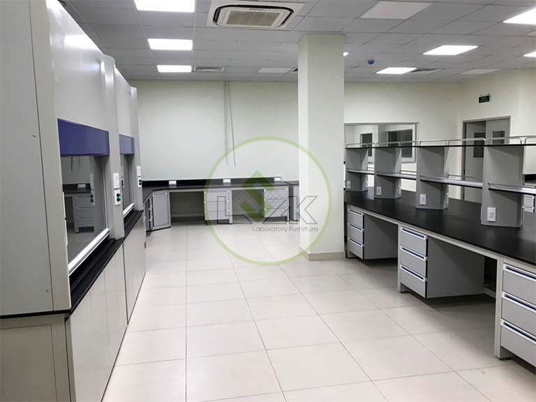 Laboratory Furniture With Chemical Resistant Work Bench Sink Manufacturers & Suppliers